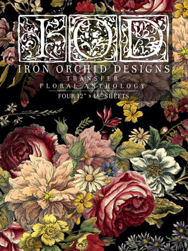FLORAL ANTHOLOGY - IRON ORCHIDDESIGNS, TRANSFER