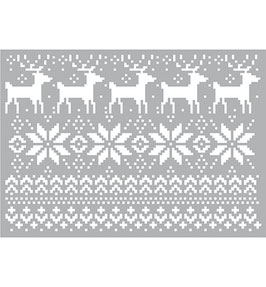 Stencil Christmas Patterns