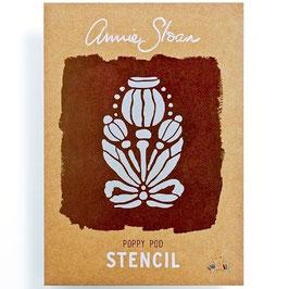Poppy Pod by Annie Sloan - stencil A4-formaat