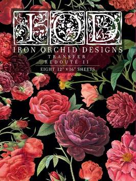 REDOUTE II - IRON ORCHID DESIGNS, TRANSFER