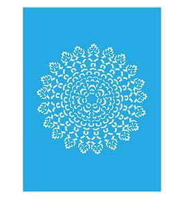 Stencil Mandala, A5-formaat