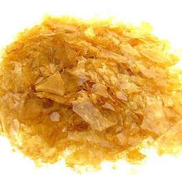 Schellak schilfers blond, zakje 50 gram