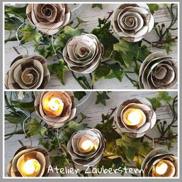 LED-Rosenlichterkette 19