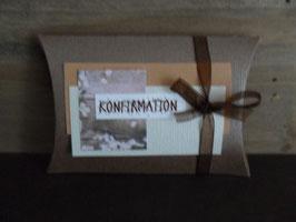 Geschenksverpackung Blume Konfirmation