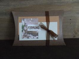 Geschenkverpackung Blume