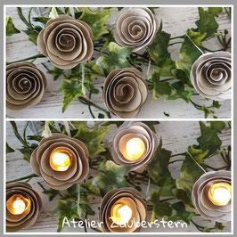 LED-Rosenlichterkette 17