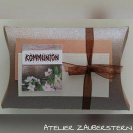 Geschenksverpackung Blume Kommunion
