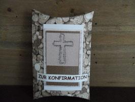 Geschenksverpackung Steine Konfirmation