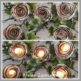 LED-Rosenlichterkette 13