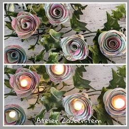 LED-Rosenlichterkette 12