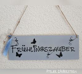 "Holzschild ""Frühlingszauber"""