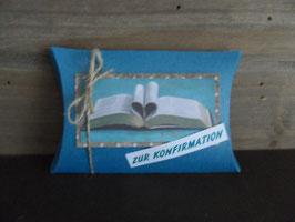 Geschenksverpackung Buch Konfirmation