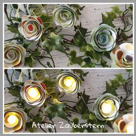 LED-Rosenlichterkette 16
