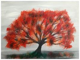 Baum Herbstfärbung