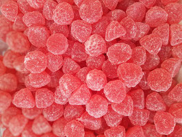 Gel de fruit framboises