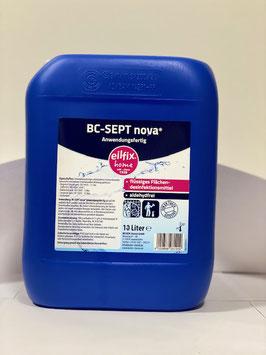 Flächendesinfektion BC-Sept NOVA gebrauchsfertig 700ml mit Sprüpistole oder 10l Kanister