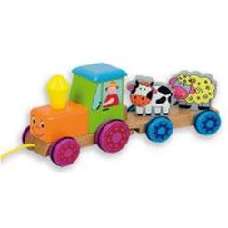 Tractor con animales