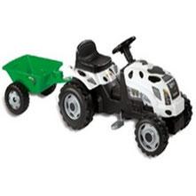 Tractor GM Vaca con remolque