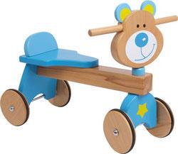 """Triciclo de madera Walker """"Oso"""""""