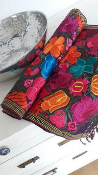 Tischläufer lila aus Mexiko