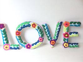 """""""LOVE"""" Buchstaben"""