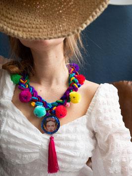 Statement Halskette (V10) inspired by Frida