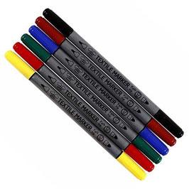 Textilmalstifte im 6er Pack