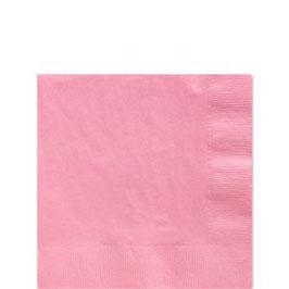 Rosa Servietten, 25cm x 25cm