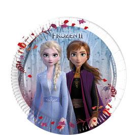Frozen 2 Pappteller 20cm