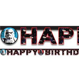"Star Wars Banner ""Happy Birthday"""