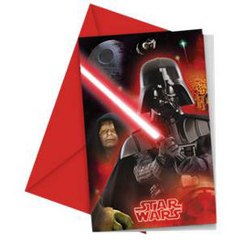 Star Wars Einladungen