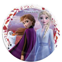 Frozen 2 Pappteller 23cm