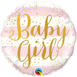 "Folienballon ""Baby Girl"""