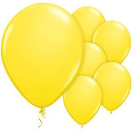 Gelbe Ballons, 10 Stk.