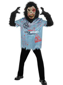 Zombie Schimpanse Kostüm