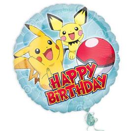 Pokémon Folienballon rund