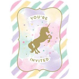 Einhorn Einladungen
