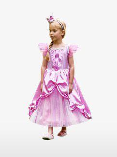 Prinzessinen-Kostüm mit Krone