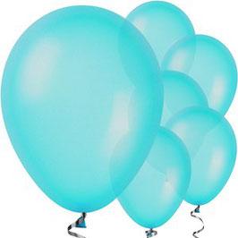 Blaue Ballons, 10 Stk.