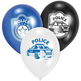 Polizei Ballons