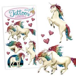 "Tattoos ""Buntes Einhorn"""