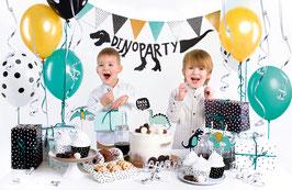 Party Dekorations-Set Dinosaurier