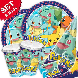 Pokémon Party-Set, 64-teilig