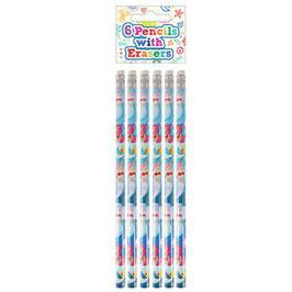 Meerjungfrauen Bleistifte