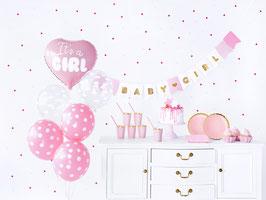 Party Dekorations-Set It's a Girl