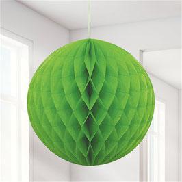 Grüner Wabenball