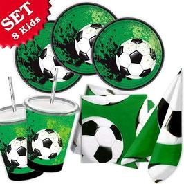 Fussball Party-Set , 57-teilig