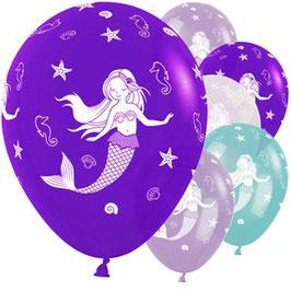 Meerjungfrauen Ballons