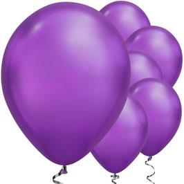 Violette Chromballons, 25 Stk.