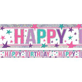 "Banner ""Happy Birthday"""